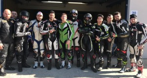vallelunga febbraio 2018 con gli amici di Lucca Motosport