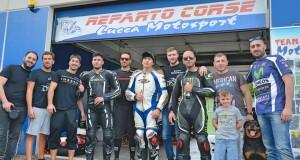 vallelunga maggio 2018 con gli amici di lucca motosport