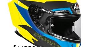 CASCO AIROH GP 550S BLUE MATT