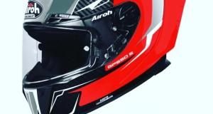 CASCO AIROH GP 550S VENOM RED GLOSS