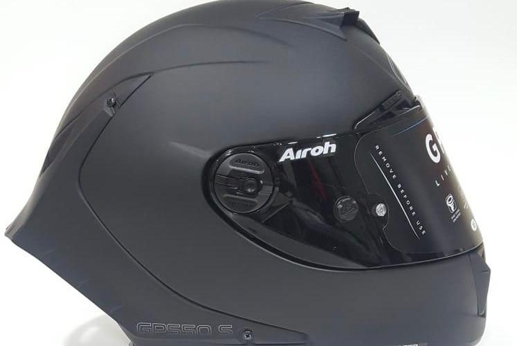 NUOVO CASCO AIROH GP550 S BLACK MATT