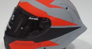CASCO AIROH GP550 S VEKTOR ORANGE MATT
