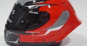 NUOVO CASCO AIROH GP550 S VENOM RED GLOSS
