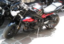 triumph street triple 675 R full arrow rizoma barracuda