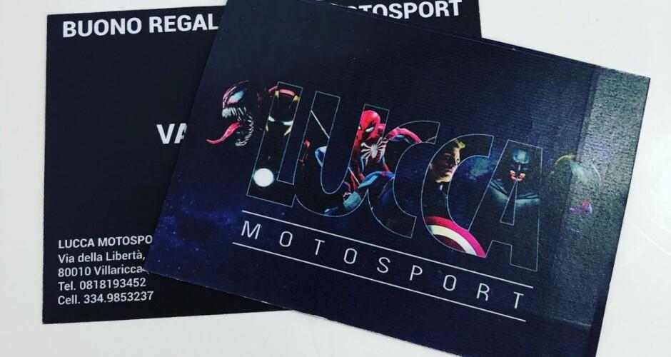 GIFT CARD LUCCA MOTOSPORT