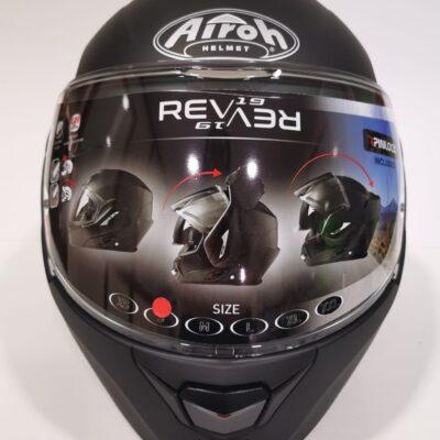 Airoh Rev-19 Color Nero Matt