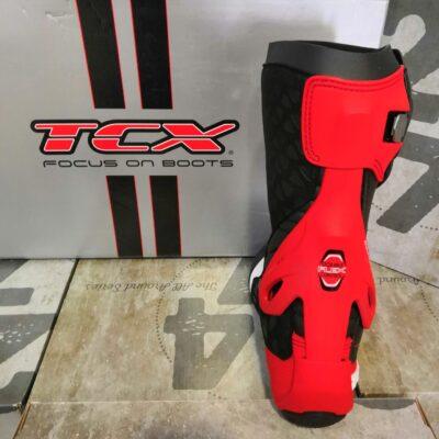 Stivali da corsa TCX RT-RACE Bianco/Nero/Rosso