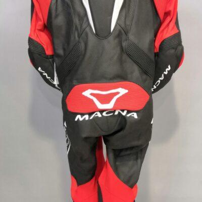Tuta da racing MACNA Voltage Nera/Rossa